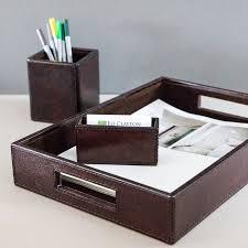 file holder for desk attractive leather desk accessories all office desk design