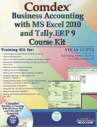 comdex business accounting with ms excel 2010 and tally erp 9