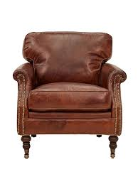 Aged Leather Sofa Winchester 45 Armchair In Aged Leather Alliance Furniture Trading