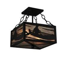 Nautical Flush Mount Ceiling Light Shop Nautical Coastal Themed Ceiling Lights Flush Mount Lighting