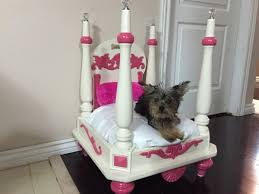 dog beds made out of end tables she didn t need this old end table so she flipped it over to make