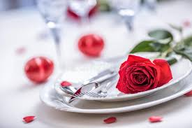 romantic table settings table setting for valentines or wedding day with red roses romantic