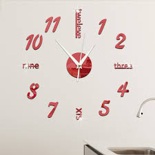 clocks outstanding kitchen wall clocks small wall clocks for big wall clocks cheap 36 inch wall clock red and silver wall clock hanging on the