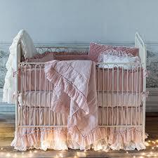 heirloom baby bedding and nursery necessities in interior