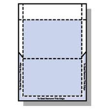 How To Fold A4 Paper Into An Envelope Rediform A4 Print Fold Seal Pay Advice Envelopes 500 Sheets