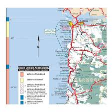 Astoria Oregon Map by North Northern Oregon Coast Area Campgrounds