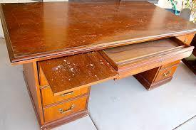 Diy Executive Desk Remodelaholic Dry Erase Painted Desk