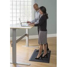 anti fatigue mat for standing desk imprint cumuluspro commercial grade standing desk anti fatigue mat