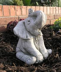 ellie the elephant garden ornament statue 22 79 garden4less