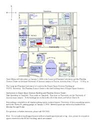 University Of Arizona Parking Map by Space Mania Ii Spirit And Opportunity Home Page