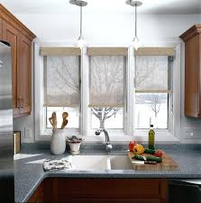 window treatments for kitchens kitchen window coverings modern kitchen window treatments stylish