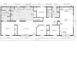 100 4 bedroom floor plan sunshine homes woodlawn village e1