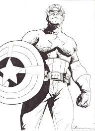 bermejo lee sketch 07 captain america in vincent meyer u0027s bermejo