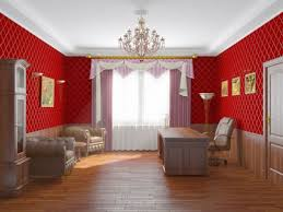 painting room with different colour kitchen design minimalist