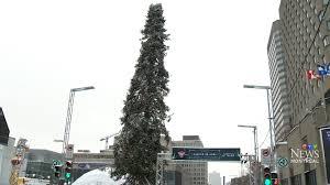 montreal u0027s u0027ugly u0027 christmas tree draws in spectators ctv news