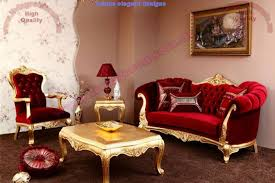 traditional sofa red velvet traditional sofa design gorgeous living room