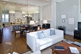 open floor plan designs luxury studio apartment open floorplan design stock photo