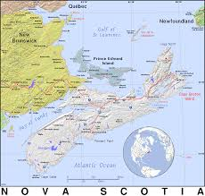 Map Of Nova Scotia Ns Nova Scotia Public Domain Maps By Pat The Free Open