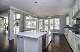 light grey gray kitchen walls with white cabinets 30 gray and white kitchen ideas grey kitchen walls white