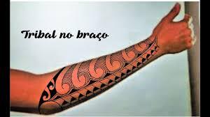 tattoo tribal no antebraço ideia de tatuagem no braço youtube