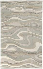Grey Modern Rug Surya Modern Classics Can 1927 Ivory White Taupe Light Gray