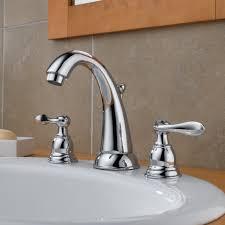 bathroom delta vero two handle widespread bathroom faucet for