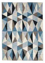 cologne light u0026 geometric wool rug
