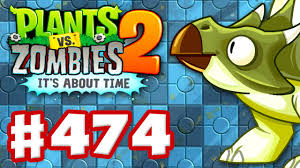 plants vs zombies 2 it u0027s about time gameplay walkthrough part