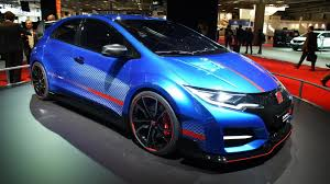 Honda Civic Type R Horsepower Honda Civic Type R Concept Powers Into Paris With At Least 280 Hp