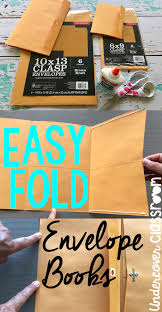 Fold Envelope by Undercover Classroom Easy Fold Envelope Books