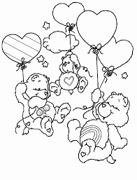 coloring pages fun care bear coloring pages fun