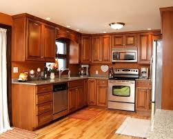 Kitchen Led Lighting Ideas Spray Painting Kitchen Cabinets White Cabinetry Dark Wood Floor