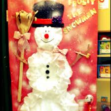snowman door decorations snowman christmas door decorations