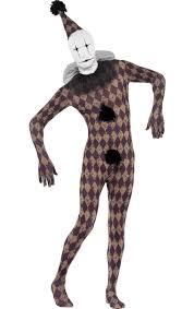 Skin Suit Halloween Costume Halloween Clown Skin Suit Jokers Masquerade