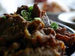 cuisine asiatique boeuf recette bulgogi boeuf sauté aux oignons à la façon coréenne