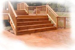deck design stairs deck builder