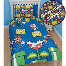 Mario Bedding Set Official Nintendo Mario Brothers Bedding Duvet Cover Sets