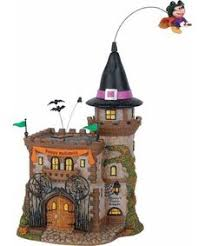 department 56 mickey s haunted house villages