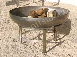Stainless Steel Firepit Available In 90cm Diameter Continue Reading Pits