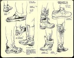 street shoes urban sketchers