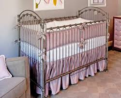 Lavender And Grey Crib Bedding Silk Lavender Crib Bedding Set Crown Interiors