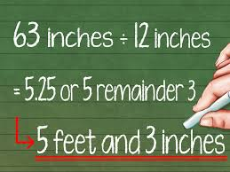 Meters To Feet by How To Convert Feet To Inches 8 Steps With Pictures Wikihow