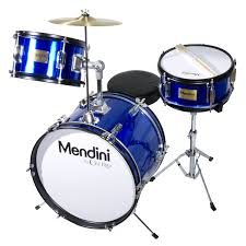 amazon com mendini by cecilio 16 inch 3 piece kids junior drum