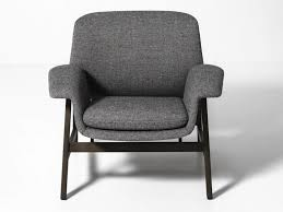 Upholstered Armchair Upholstered Armchair With Armrests Agnese By Tacchini Design