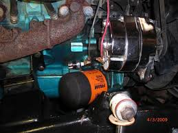 wiring an electric fuel pump with a pressure switch truck avenger
