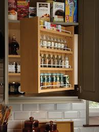 upper cabinet spice rack houzz