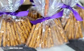 Pretzel Bags For Favors Halloween Pretzel Broom Sticks Page 2 Of 2 Smart House
