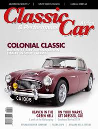classic u0026 performance car africa june july 2015 by classic