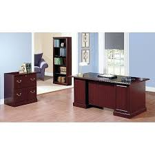 executive desk with file drawers desk with file cabinet executive desk file cabinet and 5 shelf