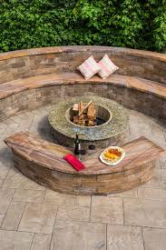 tips build a fire pit kit circular stone fire pit pavestone